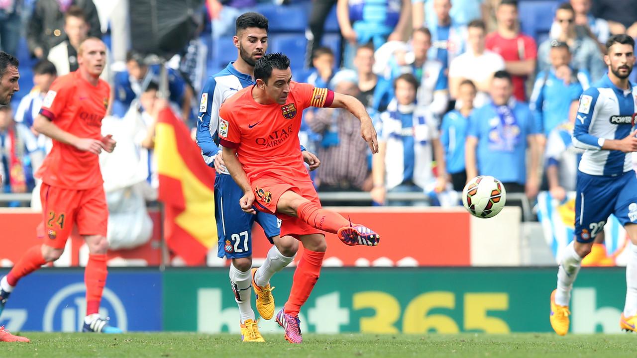 Penampilan Xavi ke-500 di La Liga / MIGUEL RUIZ - FCB