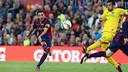 Le but de Xavi contre Getafe/ MIGUEL RUIZ-FCB