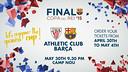 Copa del Rey final, May 30 at Camp Nou