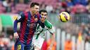 Messi, contre Cordoue Camp Nou / MIGUEL RUIZ-FCB