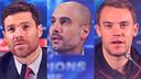 Xabi Alonso, Pep Guardiola et Manuel Neuer