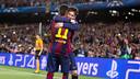 Leo Messi and Neymar Jr scored the goals against Bayern / GERMÁN PARGA - FCB