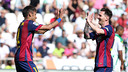 Neymar and Messi are Barça's top two scorers this season. / MIGUEL RUIZ - FCB
