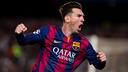 Messi, face au Bayern Munich / GERMÁN PARGA-FCB