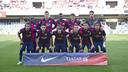 El técnico Jordi Vinyals presenta cuatro novedades en la lista respecto al partit contra el Girona / FCB