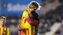 Halilovic and Dongou helped Barça B to a fine win / MIGUEL RUIZ-FCB