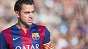 Xavi's time with FC Barcelona is drawing to a close. / FCB PHOTO