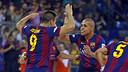 Sergio Lozano and Ferrao led Barça in scoring this season. / FCB ARCHIVE