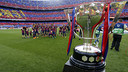 It was a special day at Camp Nou, as Barça celebrated their 23rd La Liga title in Club history. / MIGUEL RUIZ - FCB