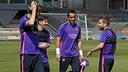 Le Barça a repris le chemin de l'entrainement / MIGUEL RUIZ