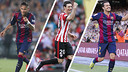 Neymar, Aduriz, and Pedro are all withing striking distance. / FCB-ATHLETIC CLUB