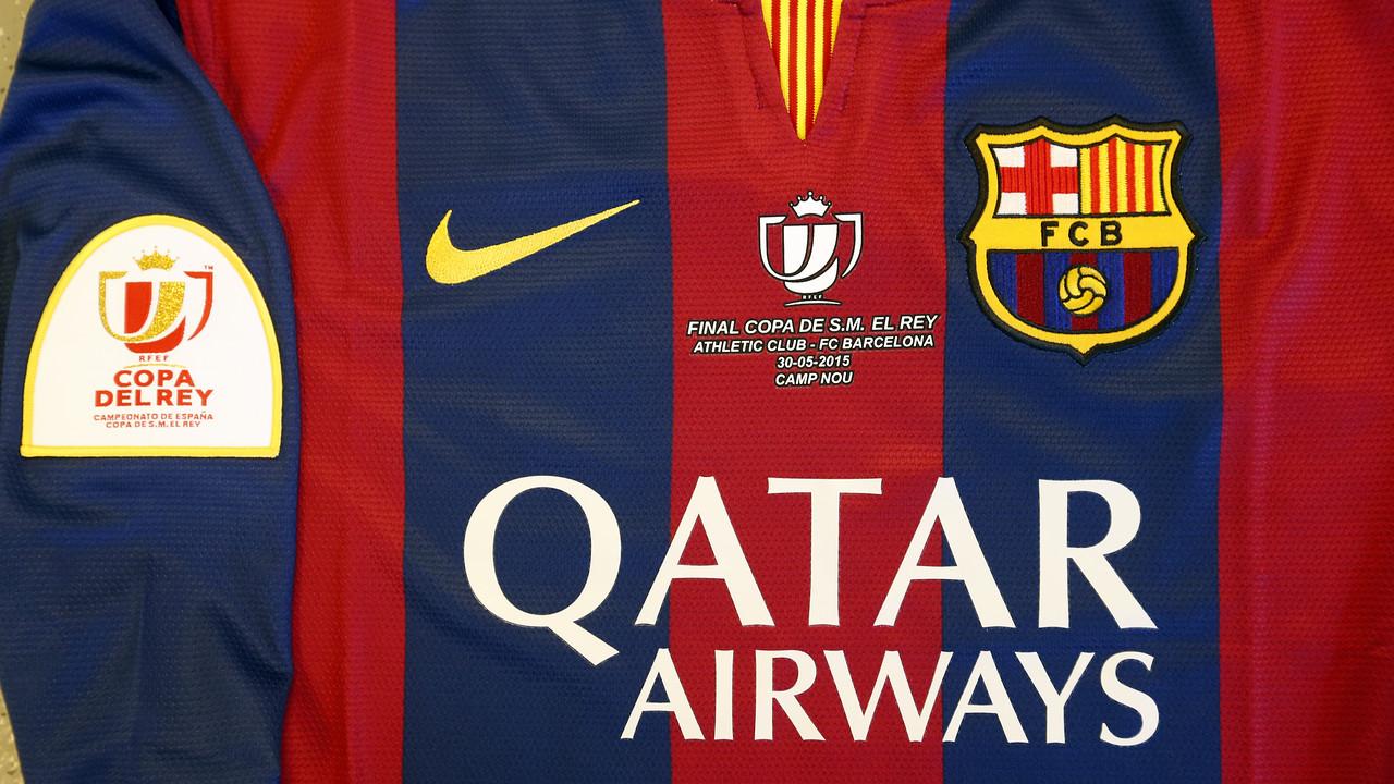 La samarreta commemorativa de la final de Copa / MIGUEL RUIZ-FCB