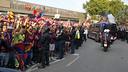 Arribada del Barça al Camp Nou