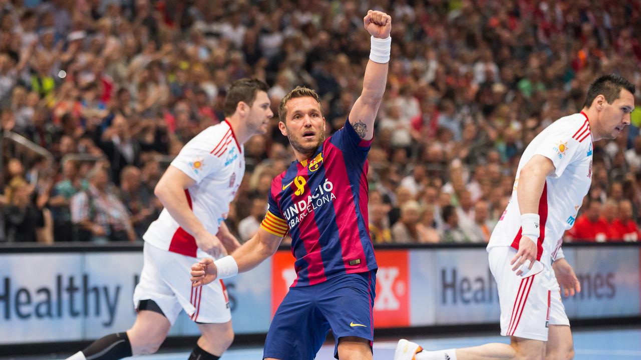 Víctor Tomàs, capità del Barça Lassa/ FOTO: GERMÁN PARGA-ARXIU FCB