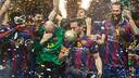 The Handball team won the section's 9th European Cup in Cologne/ GERMÁN PARGA - FCB