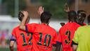 El Barça B, en un amistoso / VICTOR SALGADO - FCB