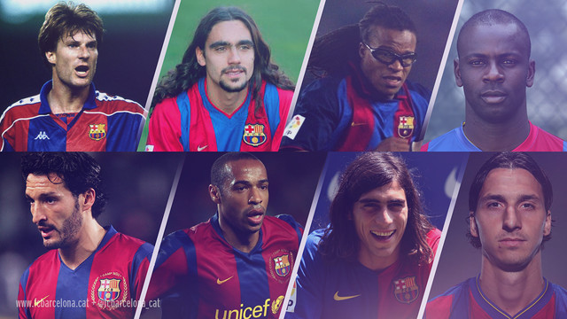 Eight players have starred for both Barça and Juve / FCB