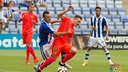Joan Román, uno de los protagonistas del ataque del Barça B en Huelva / LFP.ES