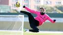 Piqué during a training session / MIGUEL RUIZ-FCB