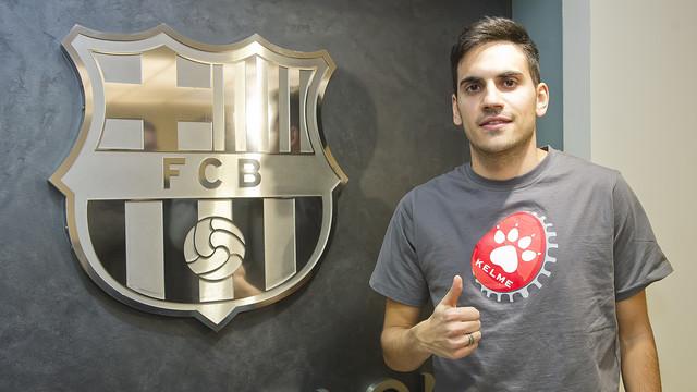 El Barça ha fichado a Quintela del Santiago Futsal