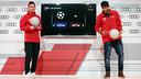 Messi i Neymar Jr meravellen amb la pilota als peus / MIGUEL RUIZ-FCB