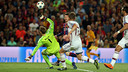Leo Messi scores his second goal against Bayern / MIGUEL RUIZ-FCB
