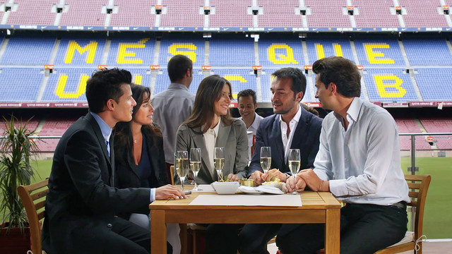 The Camp Nou Lounge is open again this summer / FCB