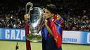 Marc Bartra, amb la cinquena Champions / MIGUEL RUIZ-FCB