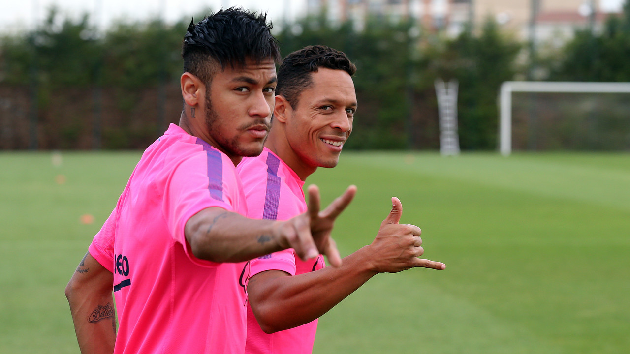Neymar Jr, durant un entrenament / MIGUEL RUIZ-FCB