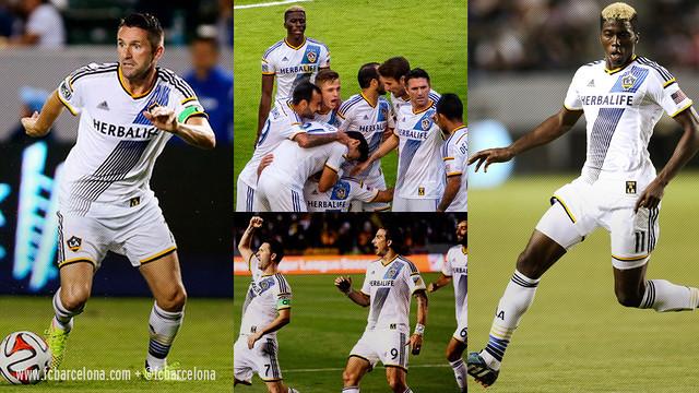 Robbie Keane is one of the big stars at LA Galaxy / FCB