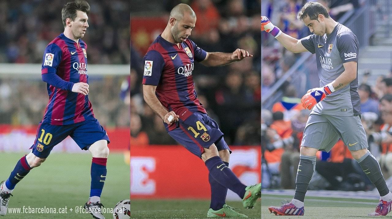 Messi, Mascrerano i Bravo jugaran la final aquest dissabte / FCB