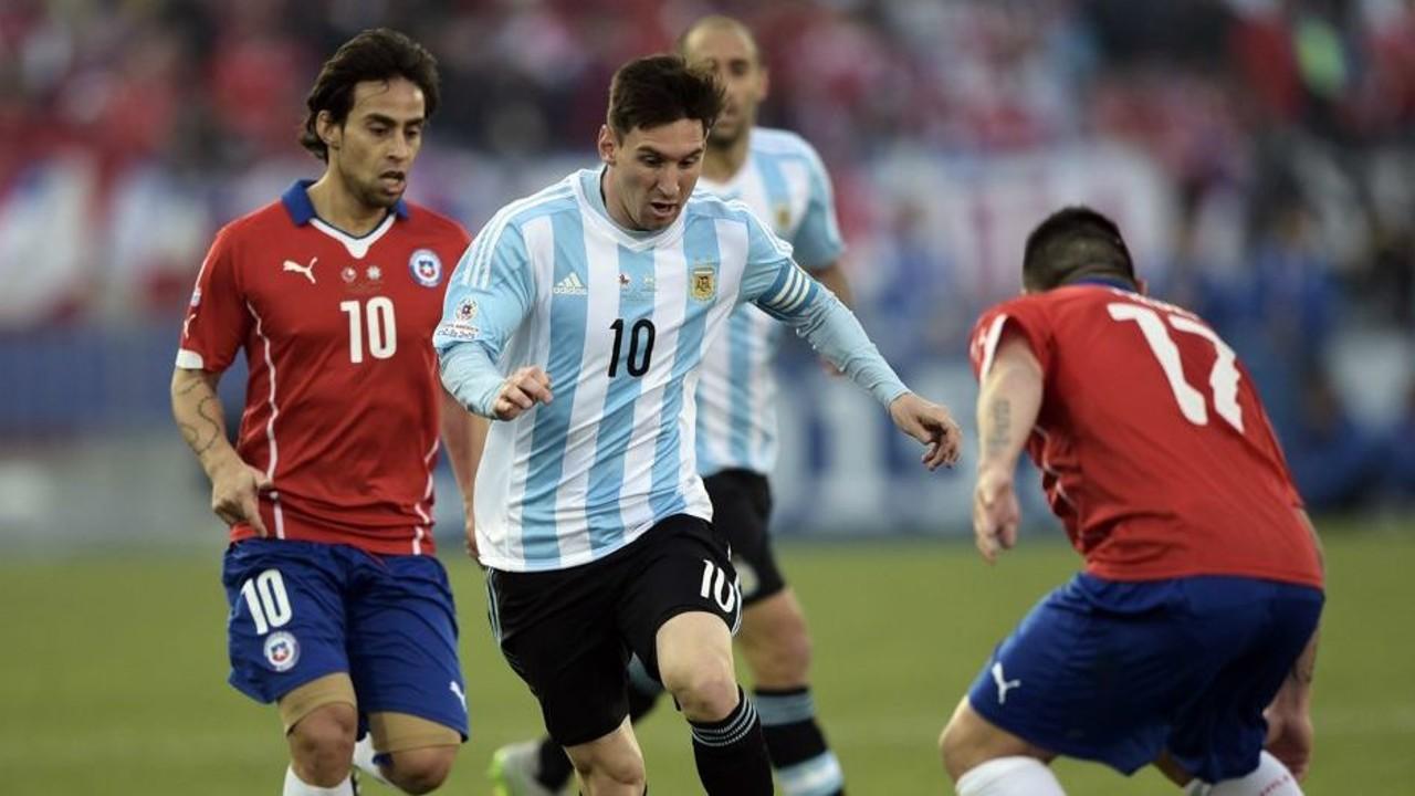 Leo Messi, en l'onze ideal / CA2015.COM