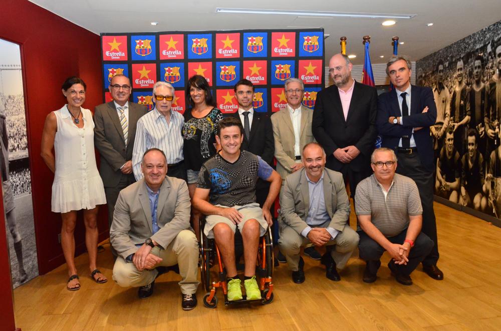 El jurat del 6è Premi Barça Jugadors / AGRUPACIÓ BARÇA JUGADORS