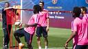Este martes el Barça B volverá a la actividad sobre el césped de la Ciutat Esportiva / ARXIU FCB