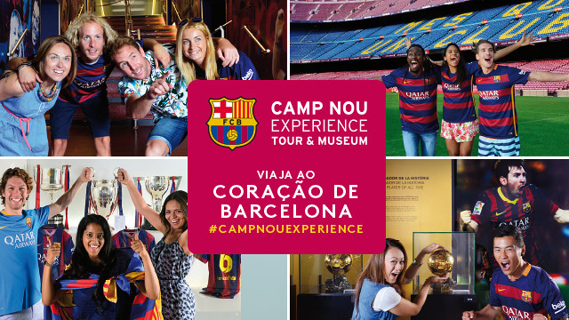 Camp Nou Experience. Travel to the heart of Barcelona