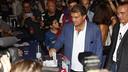 Joan Laporta casts his vote / FCB