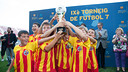 X FC Barcelona Supporters Club 7-a-side Football Tournament, on the 3rd and 4th of August