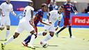 Rafinha scored Barça's only goal of the day at Levi's Stadium in Santa Clara, California. / MIGUEL RUIZ-FCB