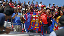 Barça fans at Levi's Stadium. / MIGUEL RUIZ-FCB