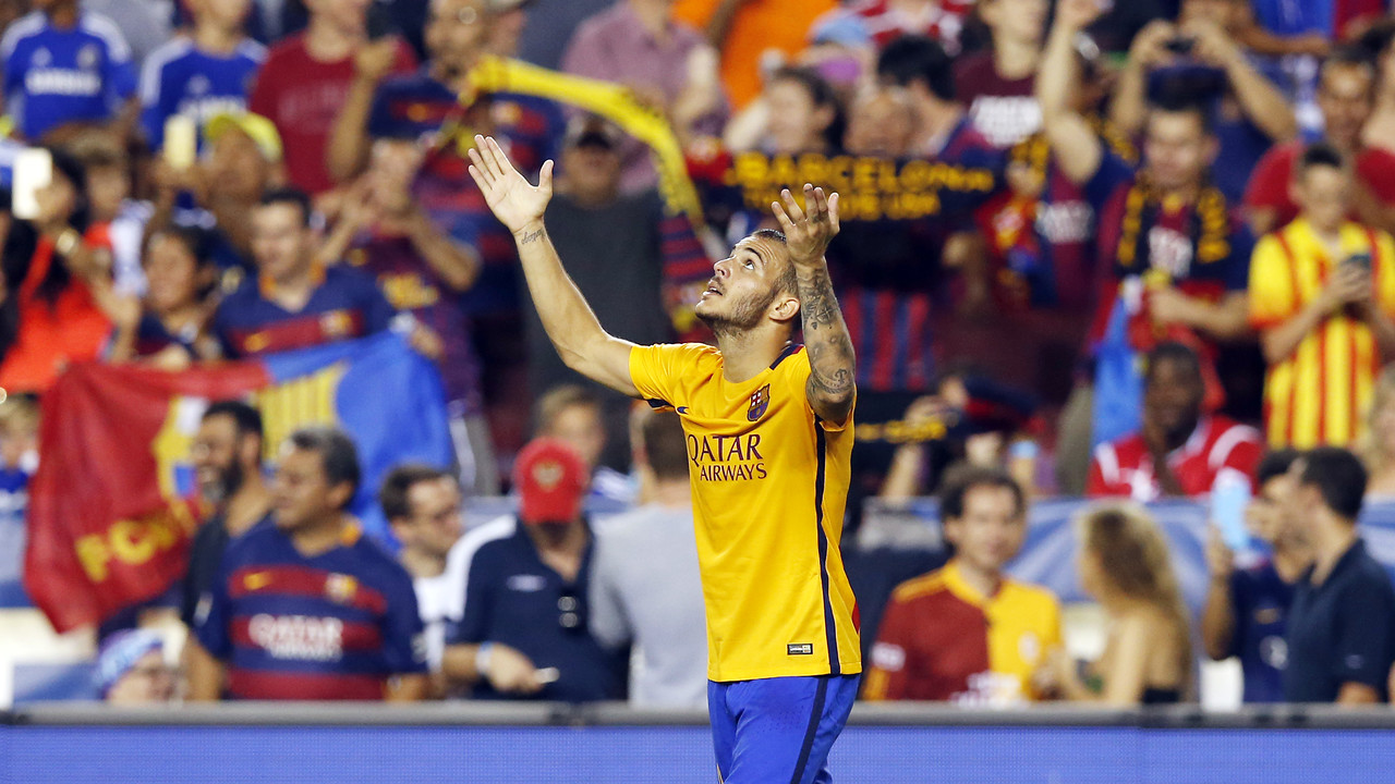 Sandro anotou um dos gols do Barça / MIGUEL RUIZ-FCB