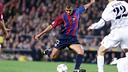 Rivaldo, durante un partido de la temporada 2000/01 - MIGUEL RUIZ - FCB