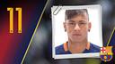 Retrato Neymar da Silva Santos Júnior. Dorsal 11