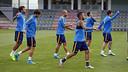 Sessió de recuperació per començar a preparar la tornada de la Supercopa / MIGUEL RUIZ - FCB