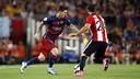 Leo Messi has scored seven goals in finals against Athletic Club / MIGUEL RUIZ-FCB