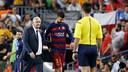 Gerard Piqué after being sent off against Athletic / MIGUEL RUIZ-FCB