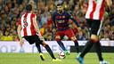 Piqué during the second leg against Athletic / MIGUEL RUIZ - FCB