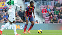 Alex Song, en 2013-14 / MIGUEL RUIZ - FCB