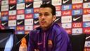Pedro Rodríguez compareix en roda de premsa / MIGUEL RUIZ - FCB