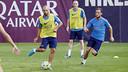 Training at the Camp Tito Vilanova in the Ciutat Esportiva / MIGUEL RUIZ - FCB