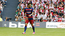 Dani Alves suffered a groin strain in San Mamés / MIGUEL RUIZ - FCB